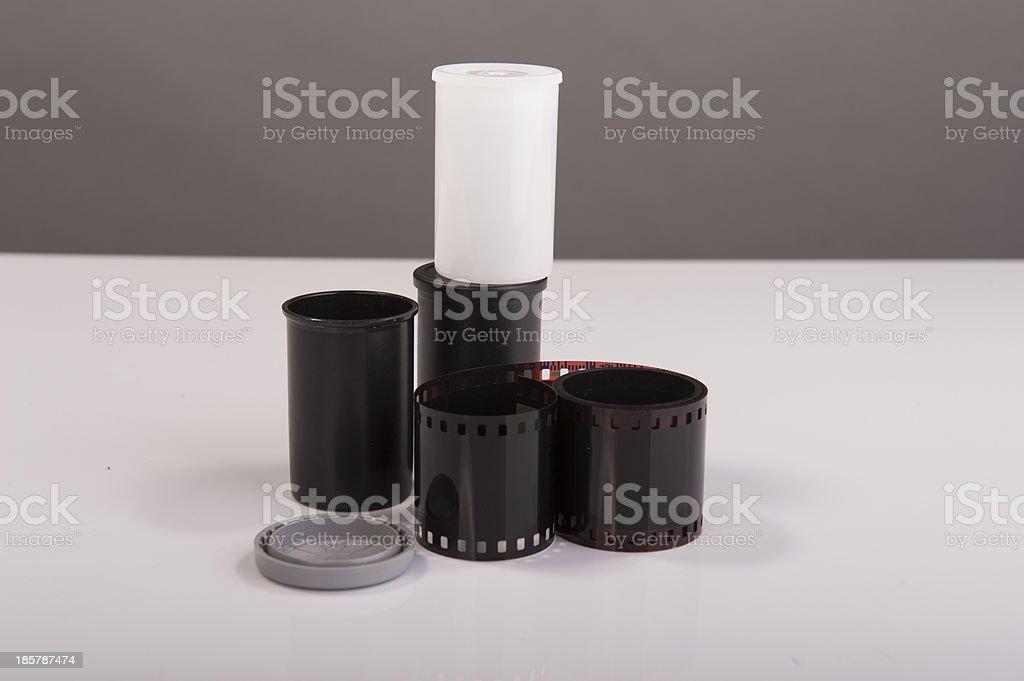 Camera film royalty-free stock photo
