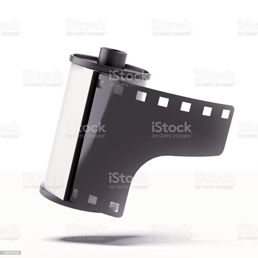 Camera film roll stock photo