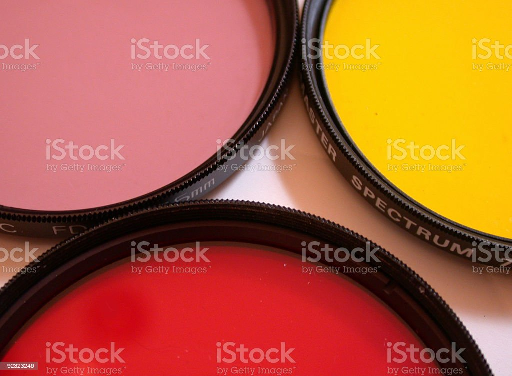 camera filters royalty-free stock photo