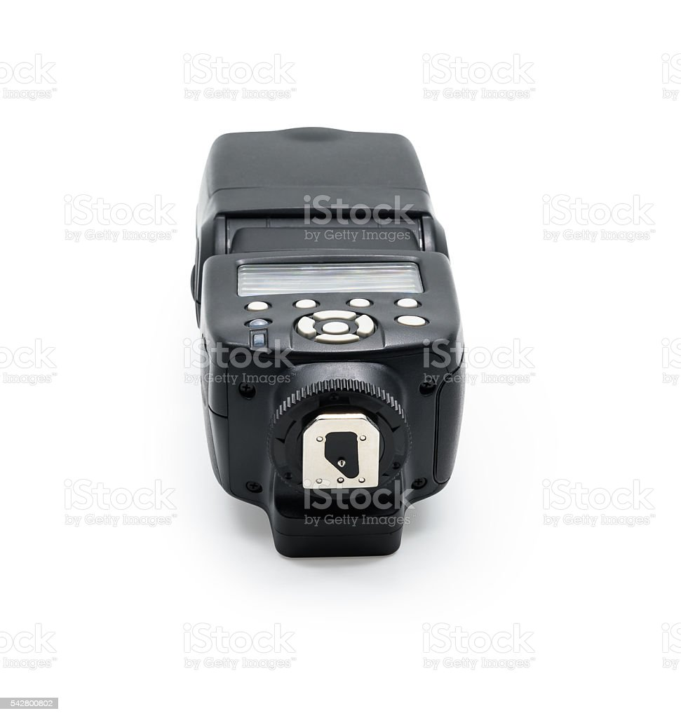 Camera Flash Speed isolated stock photo