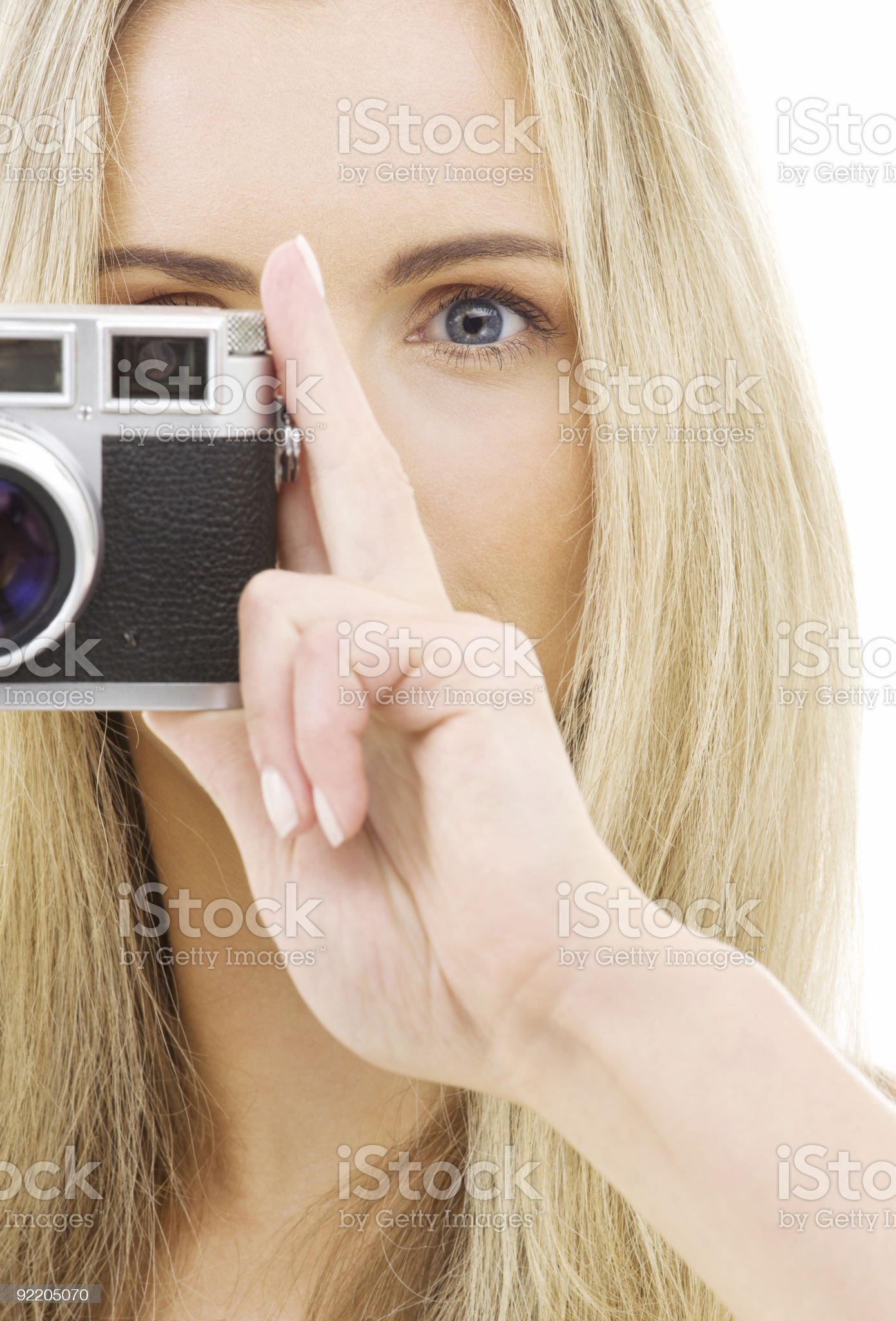 camera girl royalty-free stock photo