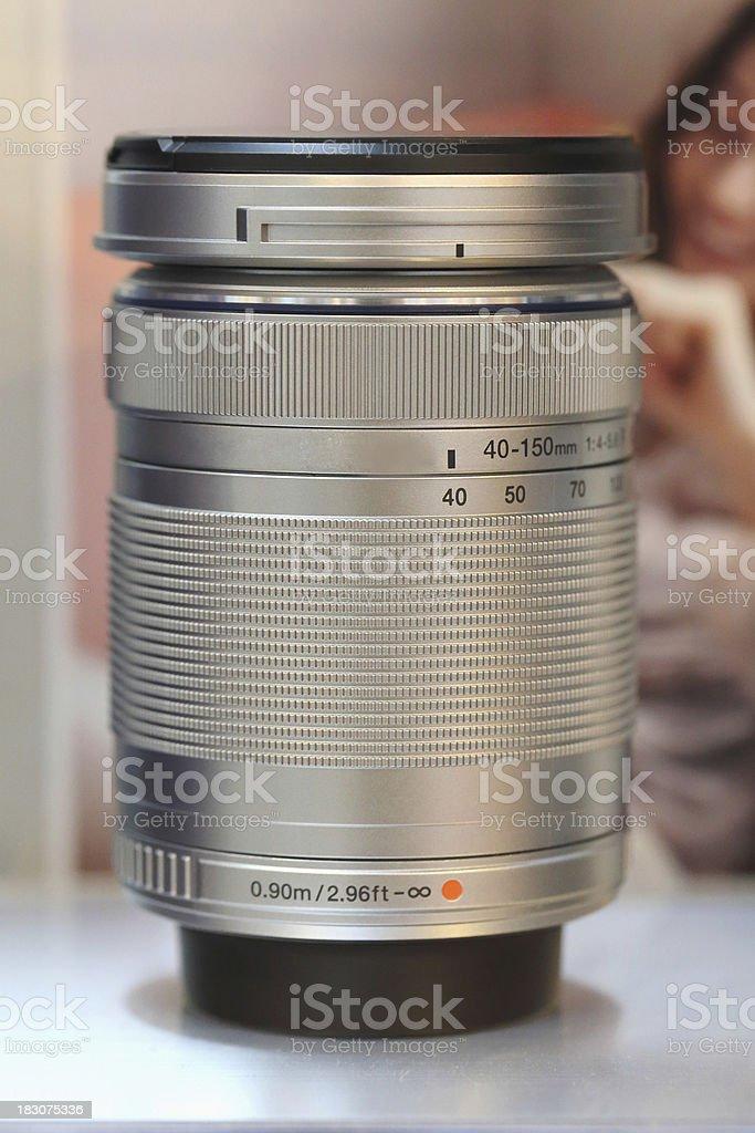 Camera lens dslr royalty-free stock photo