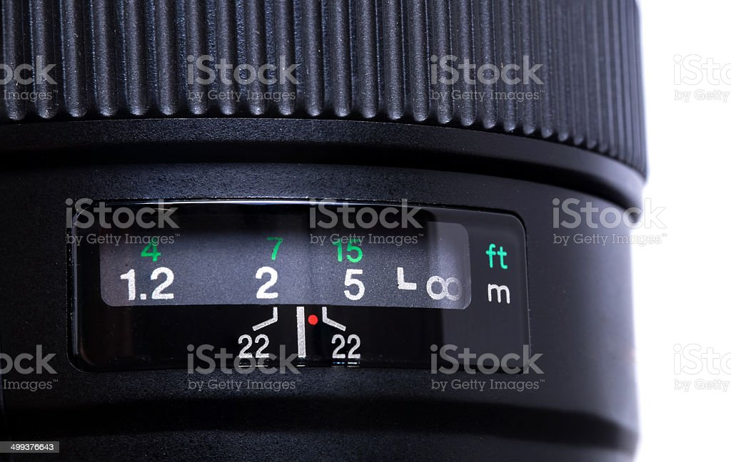 Camera lens royalty-free stock photo