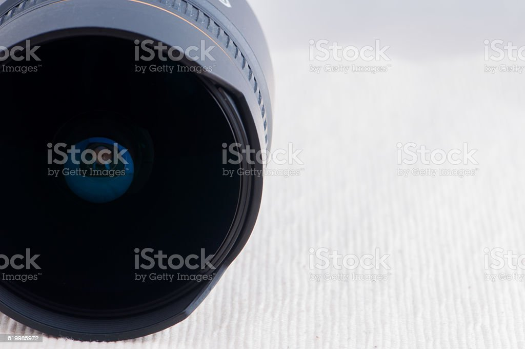 Lente de câmara foto de stock royalty-free