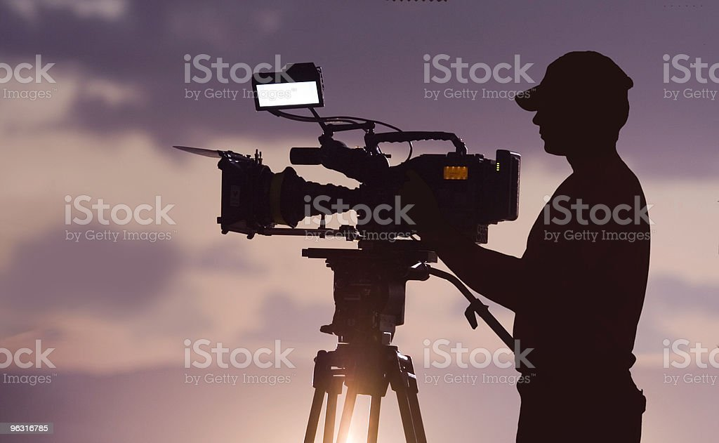 camera man stock photo