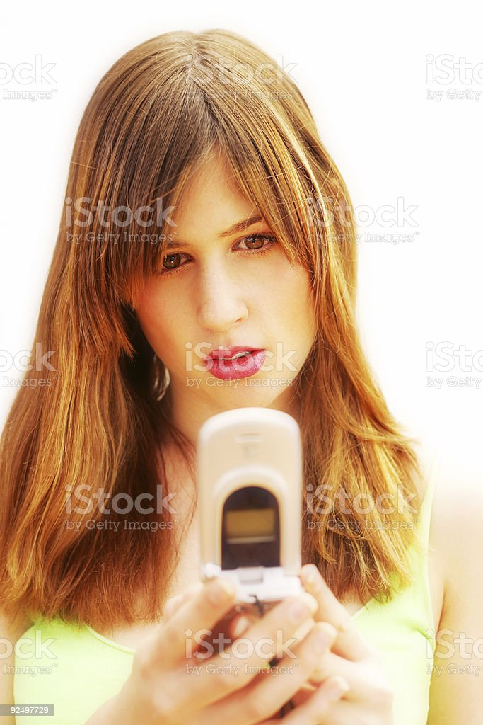 Camera Phone stock photo