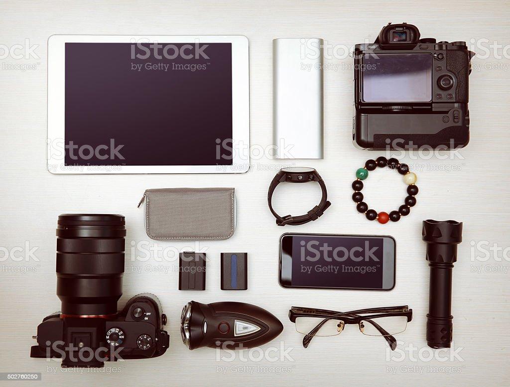 Camera - Photographic Equipment stock photo