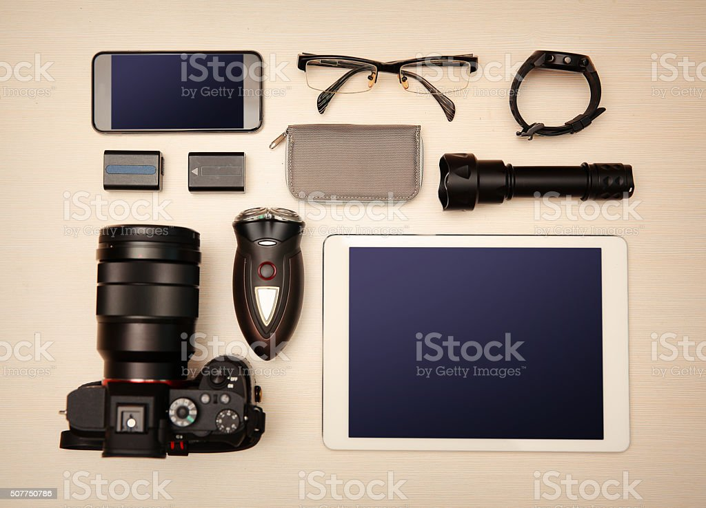 Camera - Photographic Equipment stock photo
