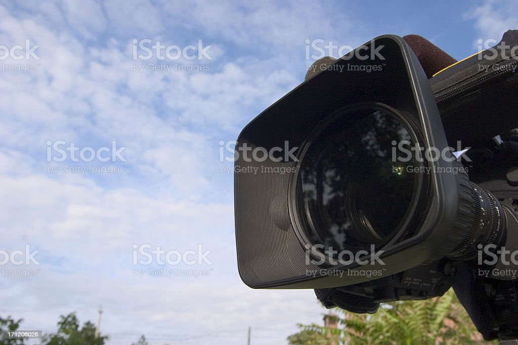 HDTV Camera royalty-free stock photo