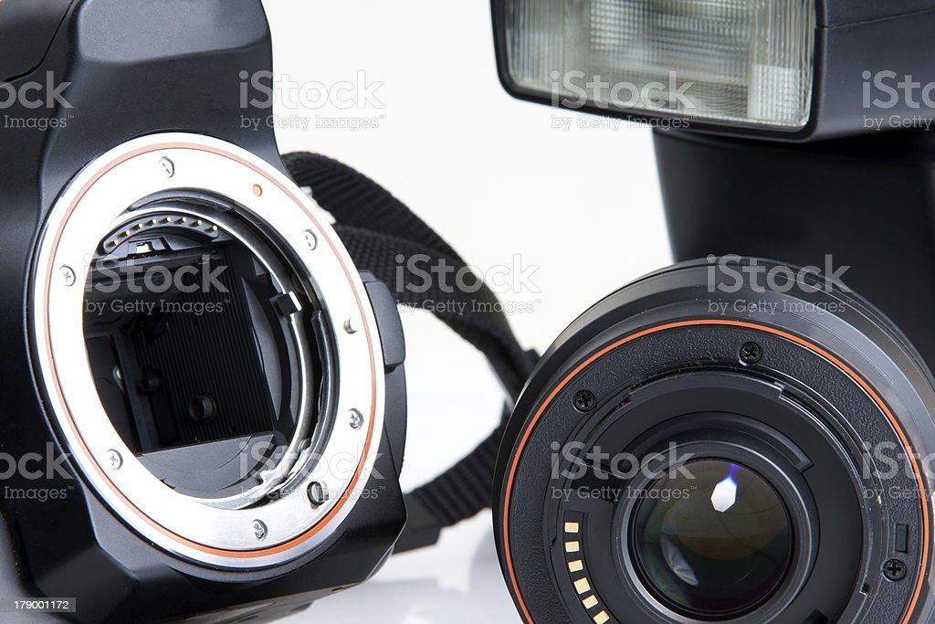 DSLR Camera royalty-free stock photo