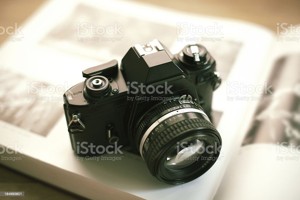 Camera royalty-free stock photo