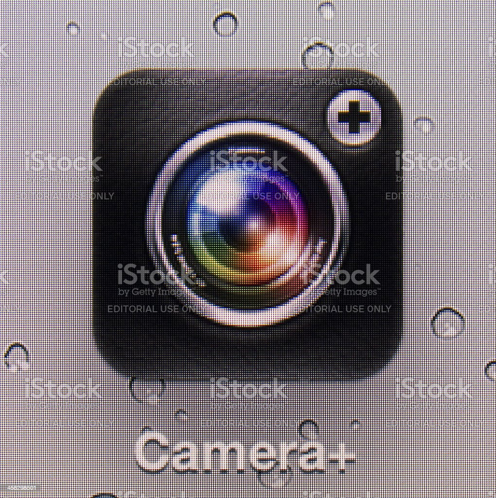 Camera+. royalty-free stock photo