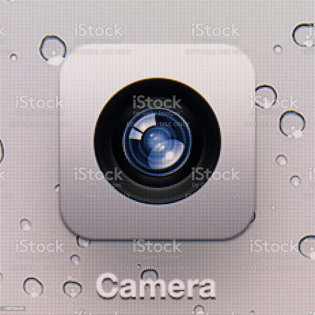 Camera. royalty-free stock photo