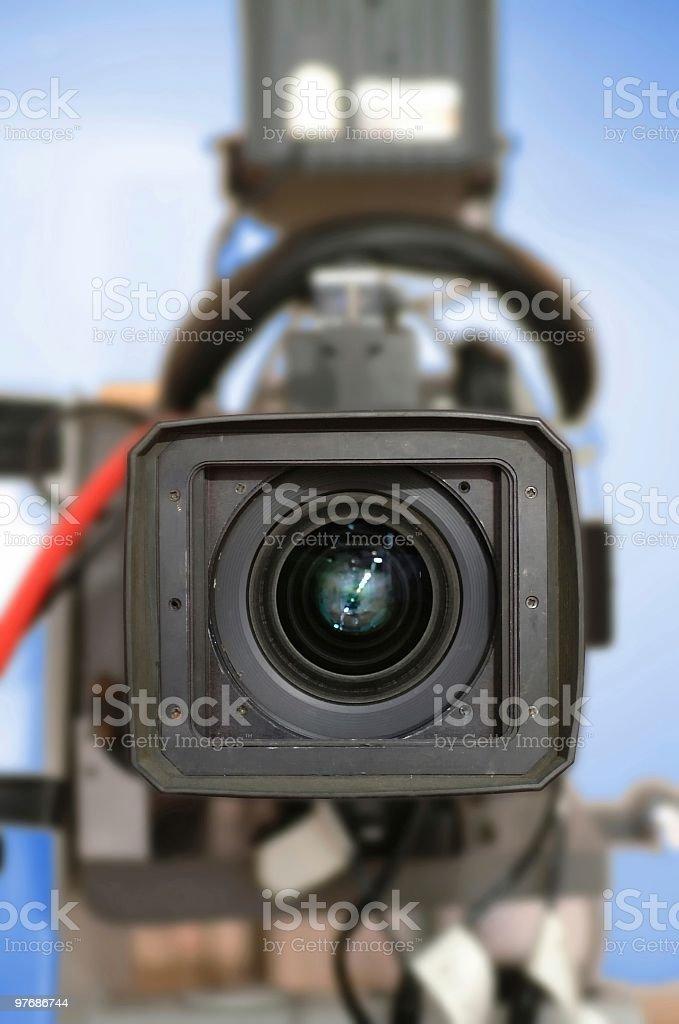 TV Camera royalty-free stock photo