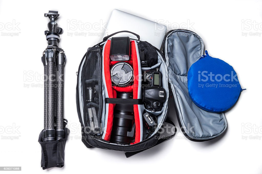 Camera set stock photo