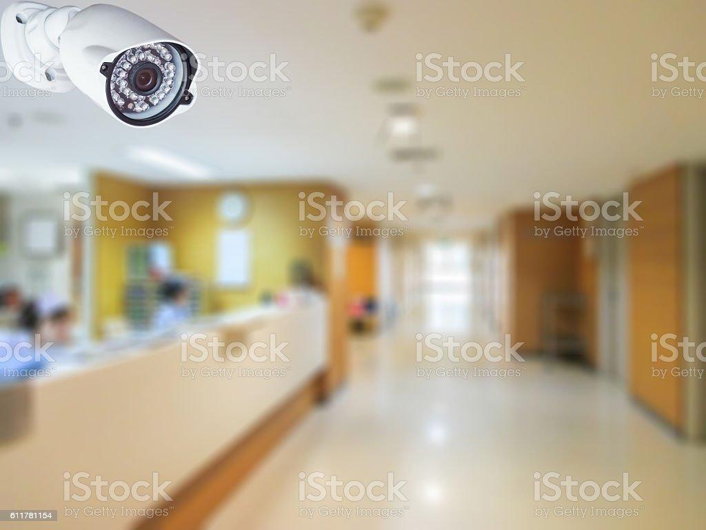 CCTV camera system. stock photo