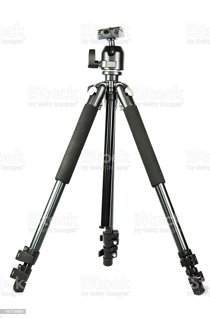 camera tripod. royalty-free stock photo