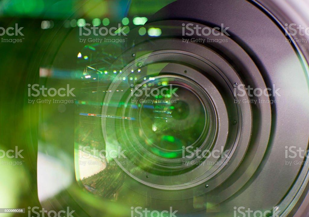 camera, TV broadcast stock photo