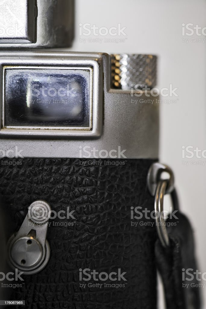 Camera view finder stock photo