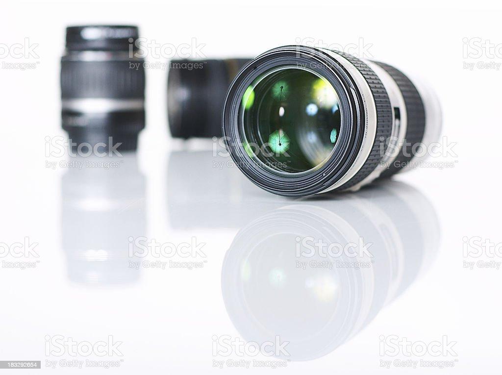 Camera Zoom Lens royalty-free stock photo