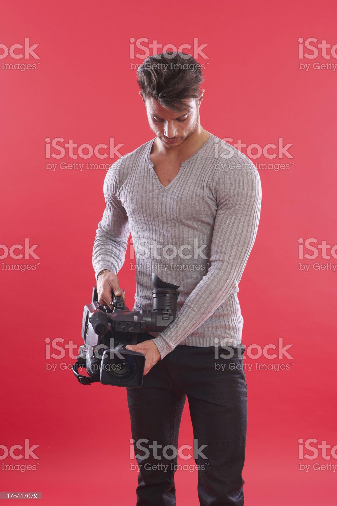 cameraman royalty-free stock photo