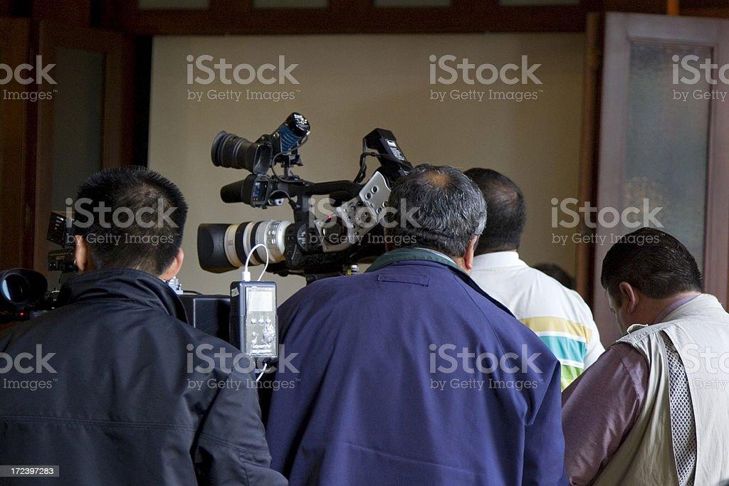cameramen royalty-free stock photo