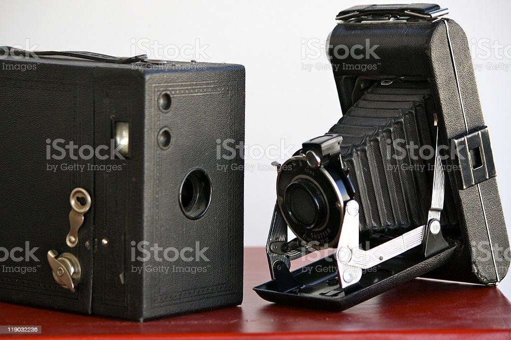 Camera's, Antique stock photo