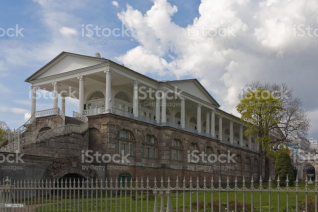 Cameron gallery in Catherine park royalty-free stock photo