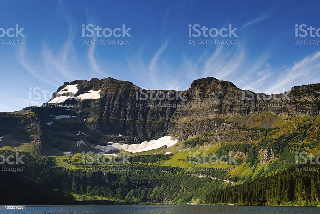 Cameron Lake royalty-free stock photo
