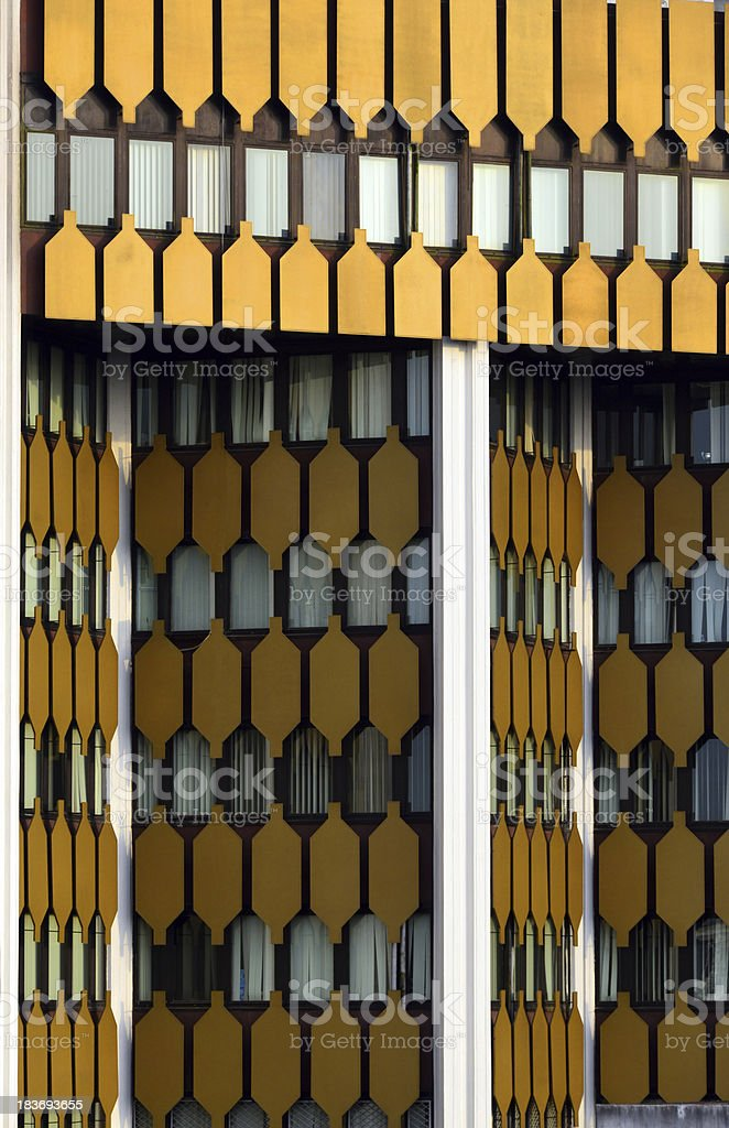 Cameroon, Douala: office tower stock photo
