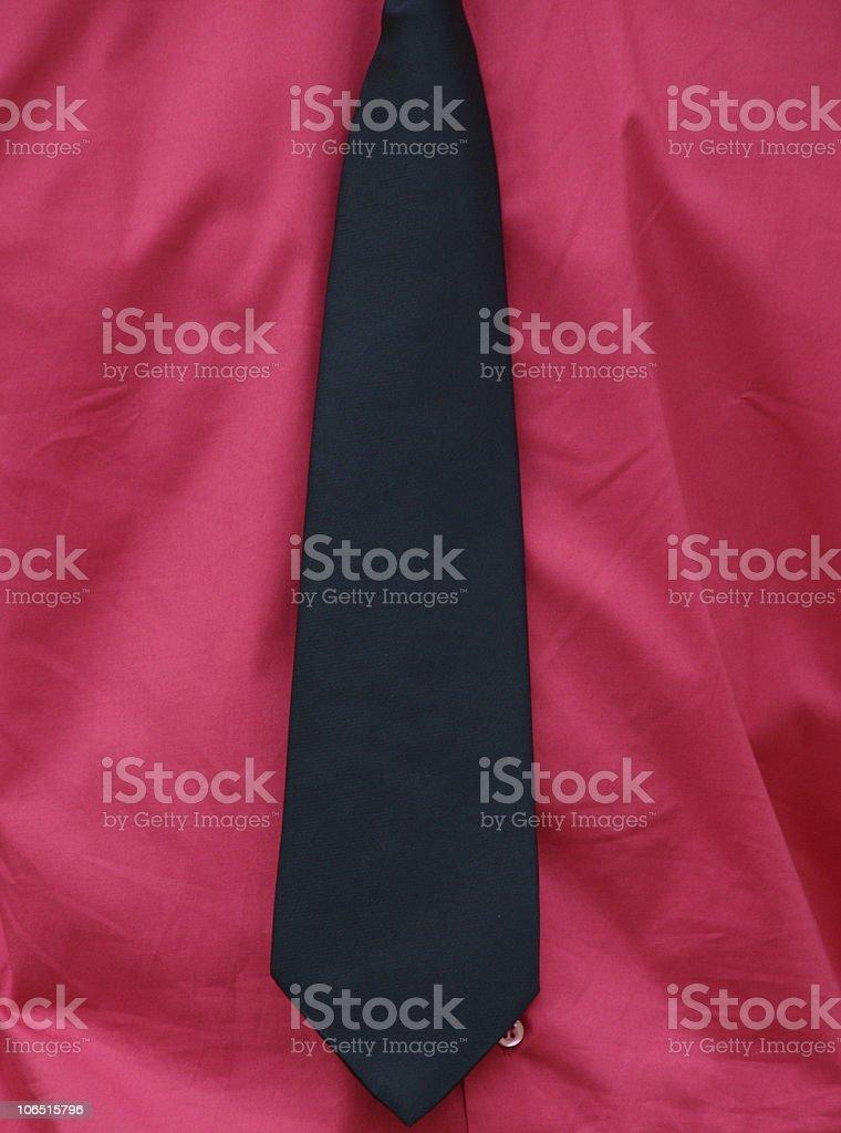 Camicia e cravatta royalty-free stock photo