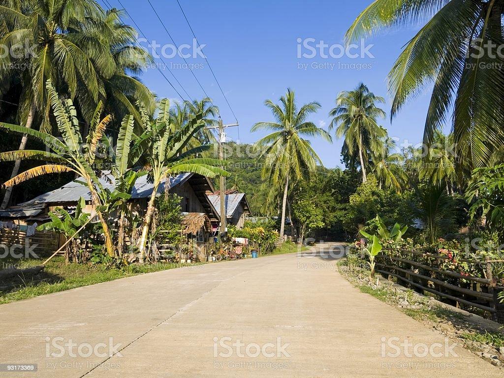 Camiguin Village royalty-free stock photo