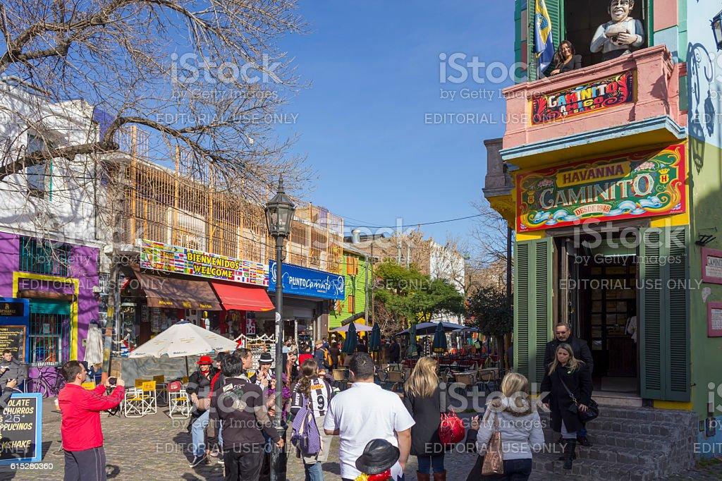 Caminito, Buenos Aires stock photo