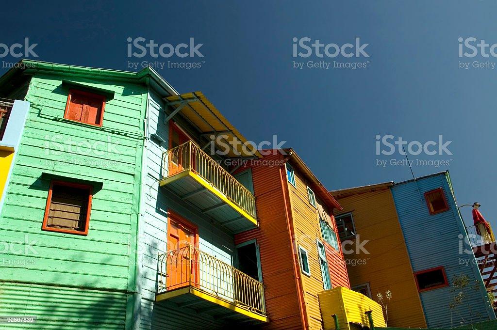 Caminito - La Boca Buenos Aires royalty-free stock photo