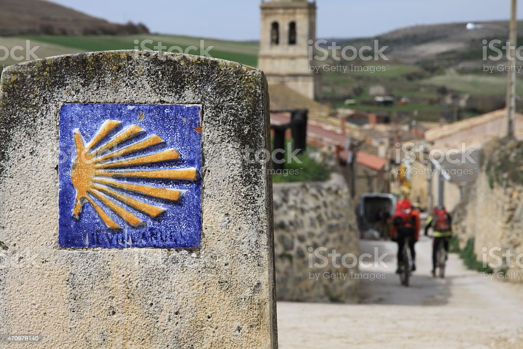 Camino De Santiago stock photo