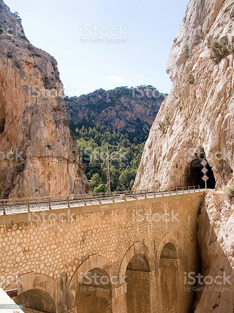 Camino del ray royalty-free stock photo
