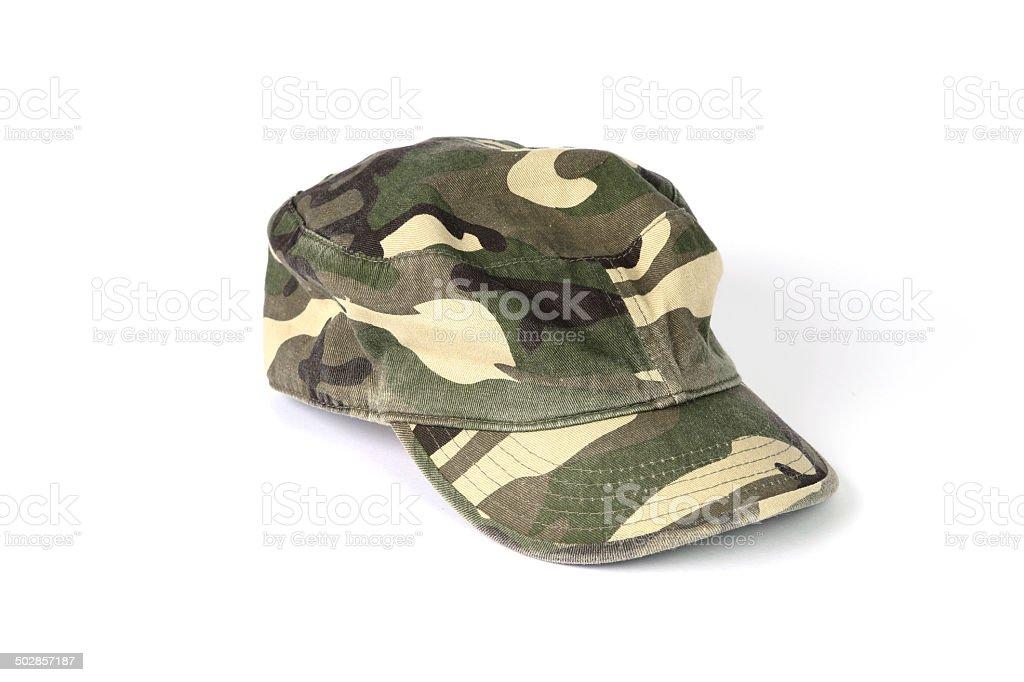 Camo Hats stock photo