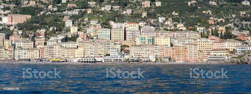 Camogli, Italian Riviera stock photo