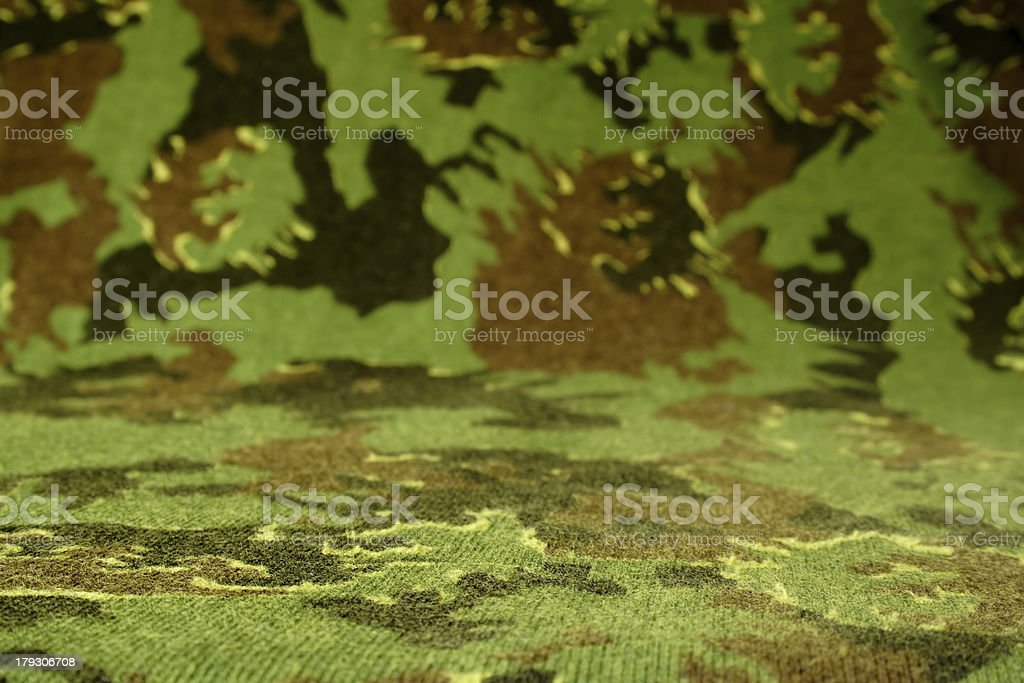 Camouflage cloth stock photo