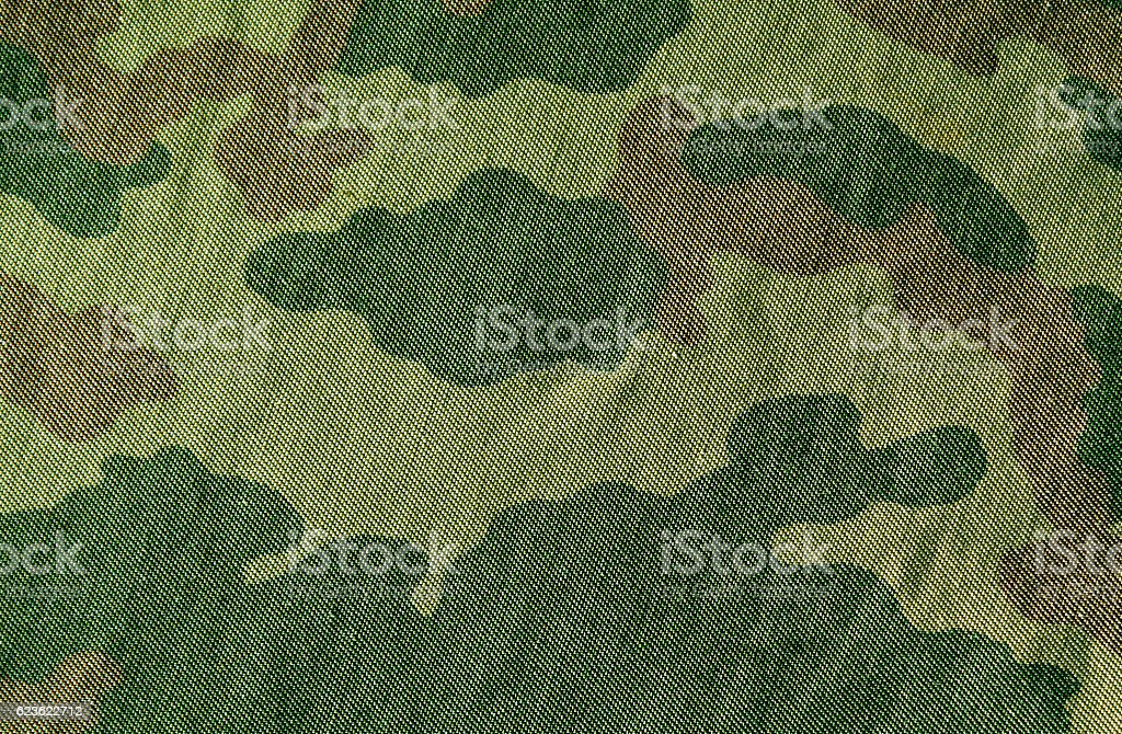 Camouflage cloth texture. stock photo