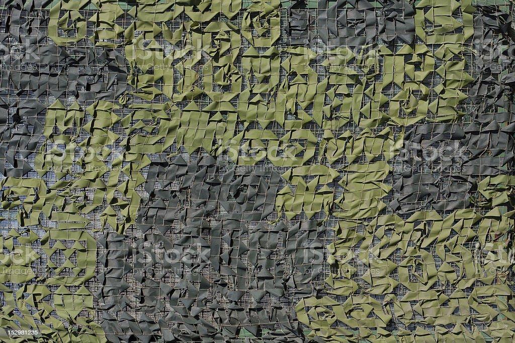 camouflage coat stock photo