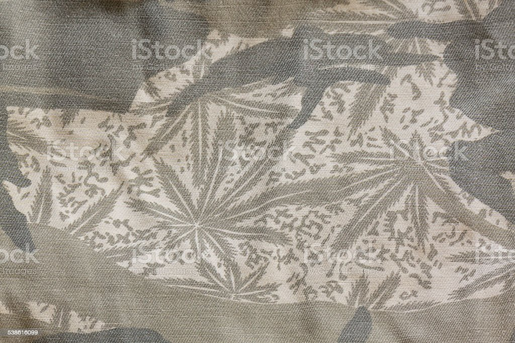Camouflage fabric texture background stock photo