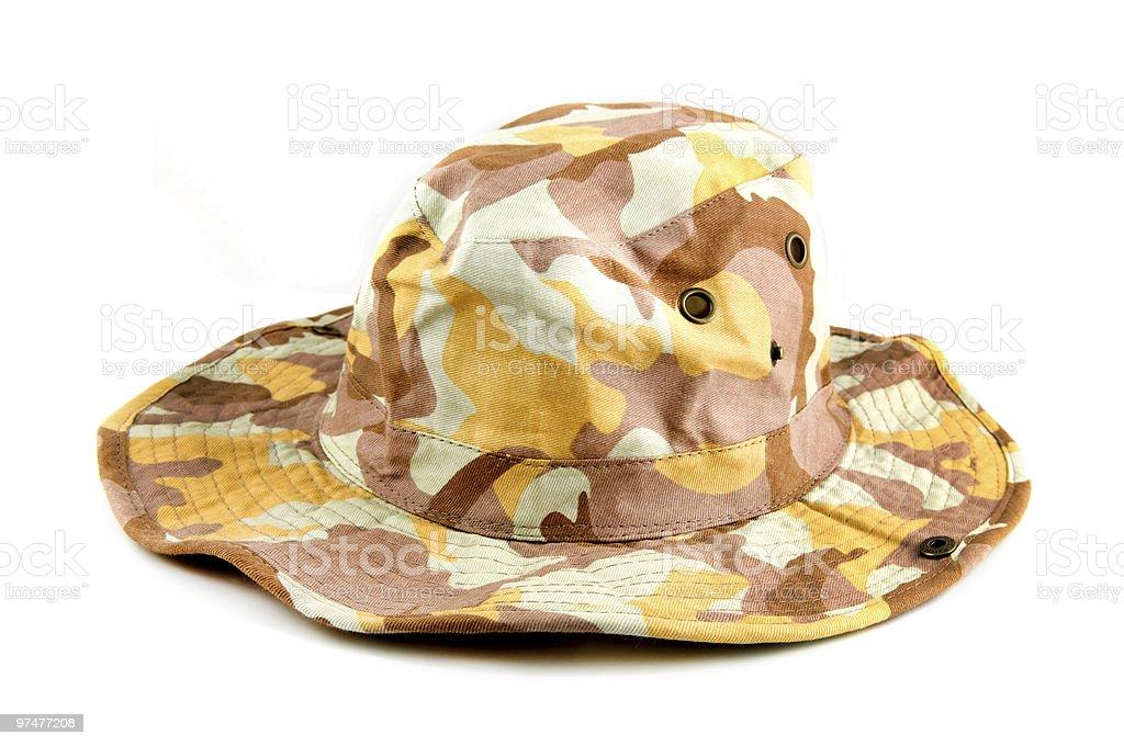 Chapeau Camouflage photo libre de droits