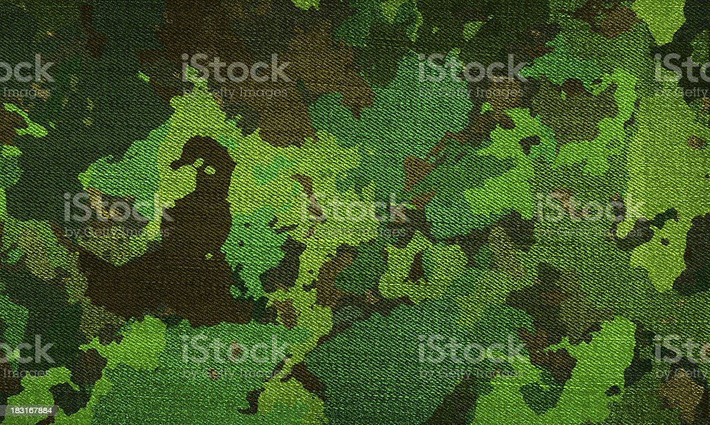 Camouflage military background stock photo