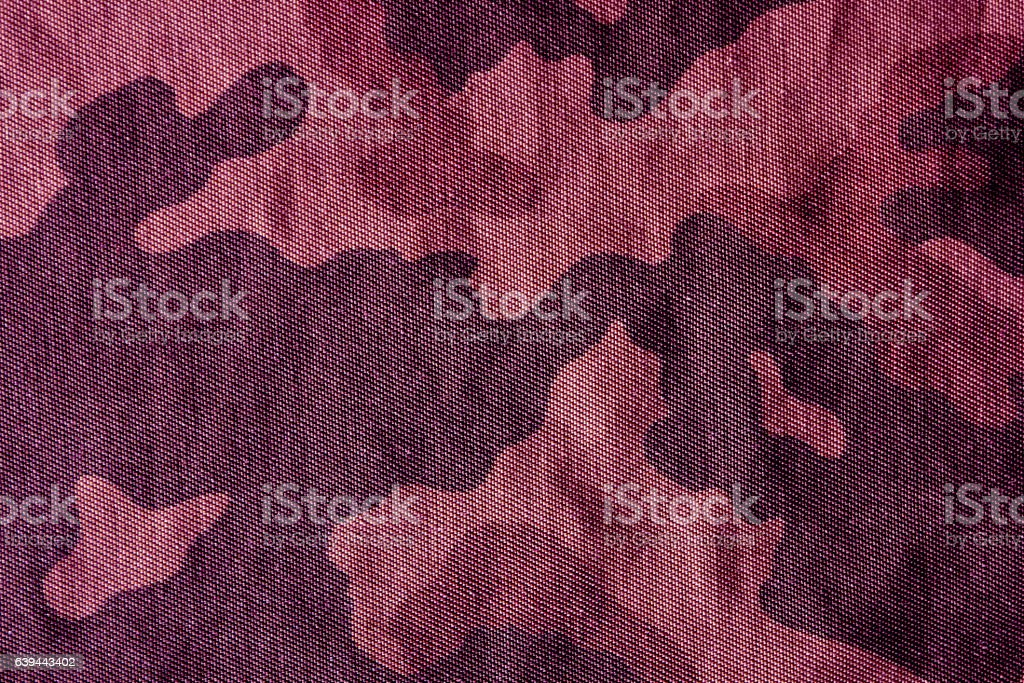 Camouflage pattern cloth texture stock photo