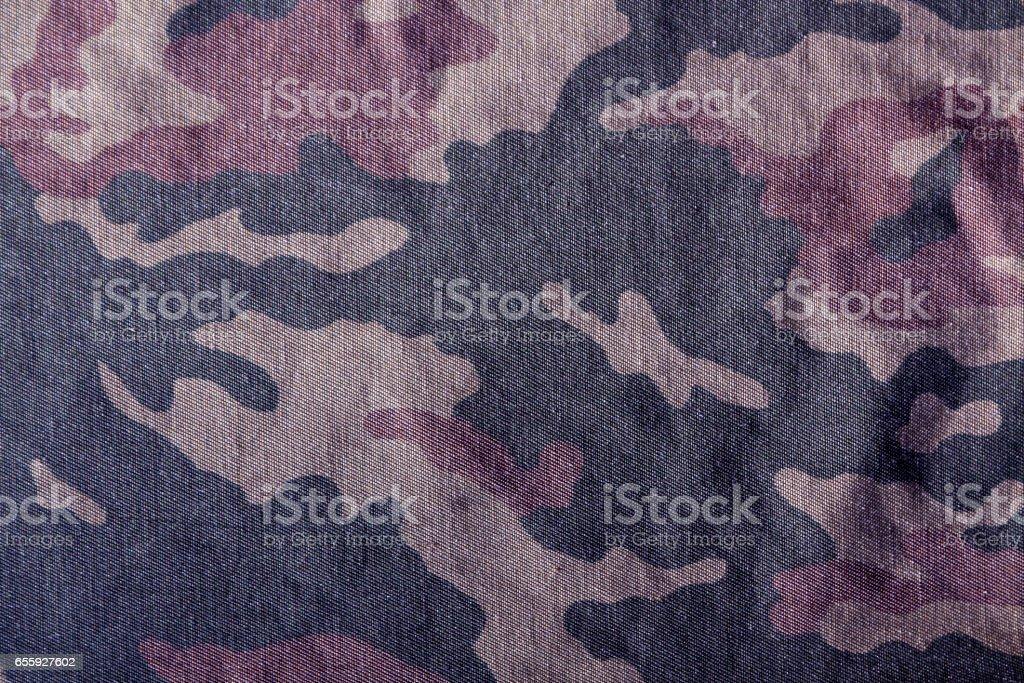 Camouflage uniform cloth pattern. stock photo