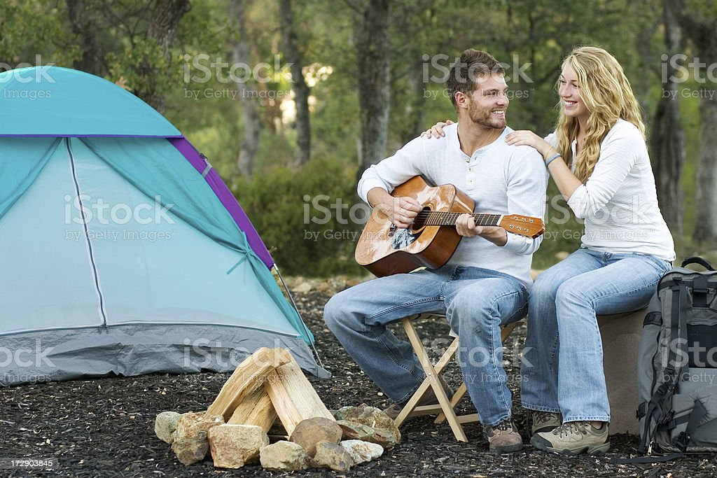 Camp Songs royalty-free stock photo
