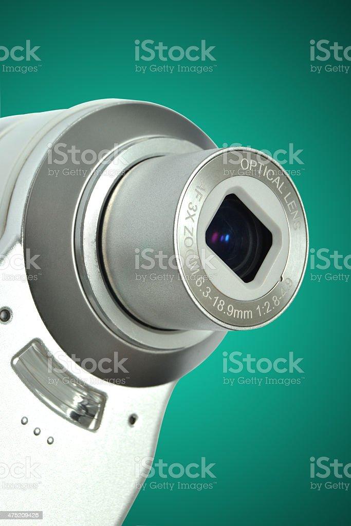 campact digital camera stock photo