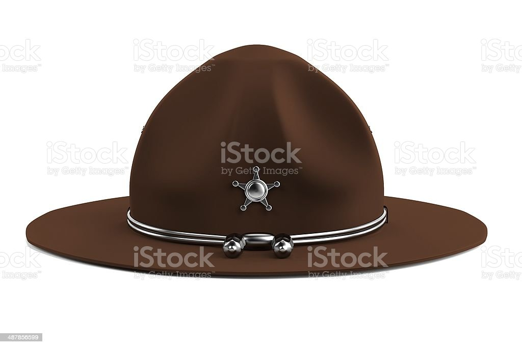 campaign hat stock photo