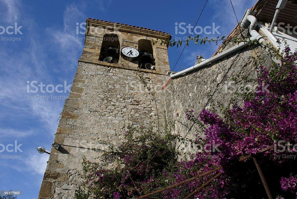 Campanario de Islares bell tower royalty-free stock photo